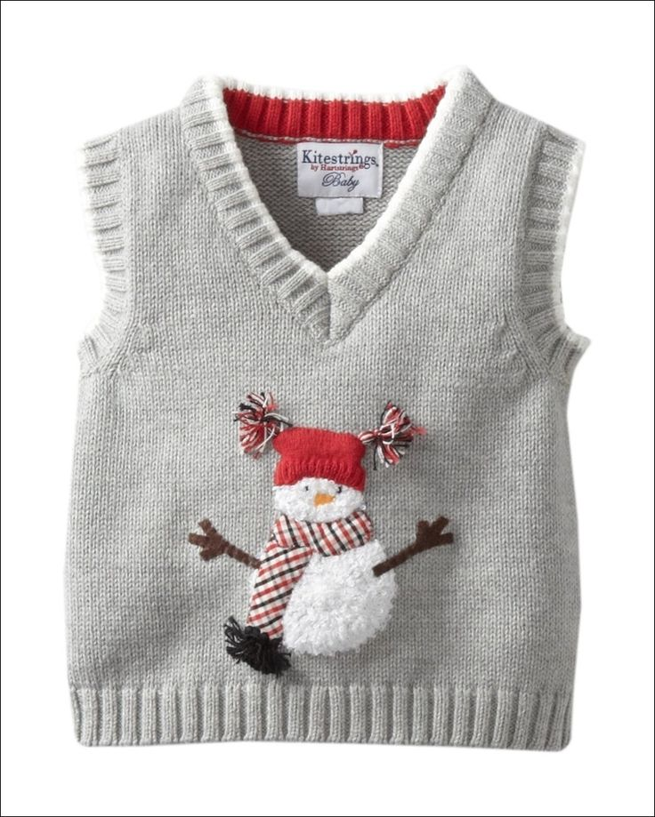 his sweater vest in grey colour is for your newly arrived baby boy. It has a rib knit trim and a V shaped neck.