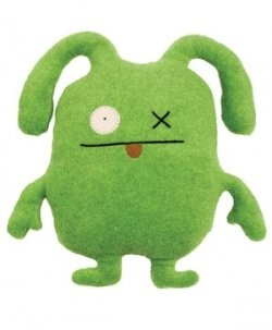 Ox, the green ugly doll. His