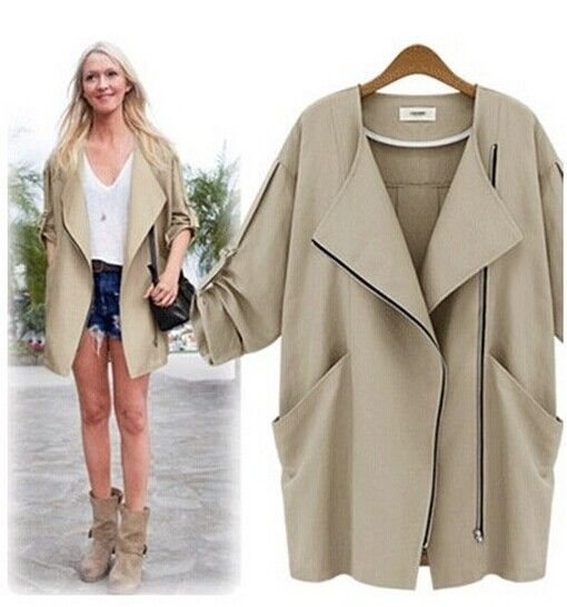 Fashion Desigual Winter Clothing 2015 New Arrival  Spring Casual Brand Women's   Casual  loose coat  short coat wild  D019