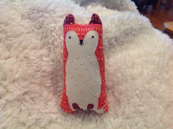 A fox ( using a kiriki kit)