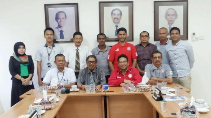 Martapura Football Club: Ketum Martapura FC kunjungi Bpost Group