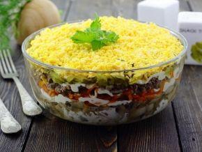 Праздничные салаты — 360 рецептов с фото. Вкусные и простые рецепты салатов на праздничный стол