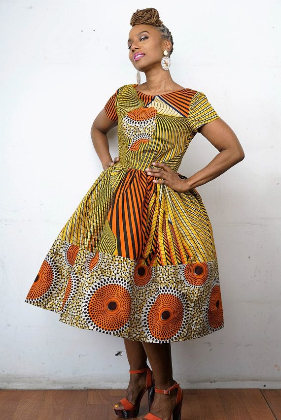 African Clothing Exclusive The Li Li Afro Belle By Lilicreations African Dress Designs