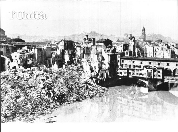 Second world war bombs Florence