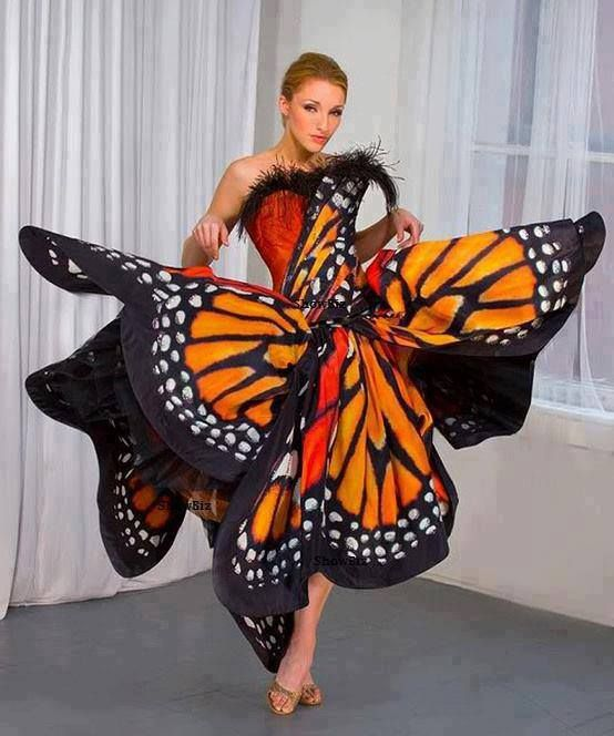 butterflying. I have posted this before but not on a live model. Looks so much better.