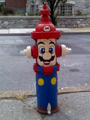 Mario! *  *Disclaimer: If fire hydrants in my neighborhood start to take on a…