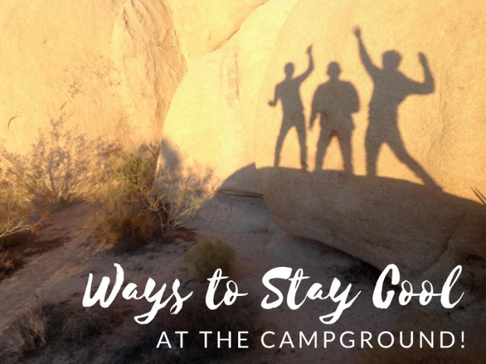 Bottom line... our Highway West Vacations destinations are in some pretty hot locations during the #summertime! So we thought we would share some great ways to stay cool while #camping with us: https://highwaywestvacations.com/blog/how-to-stay-cool-at-the-campground-this-summer.
