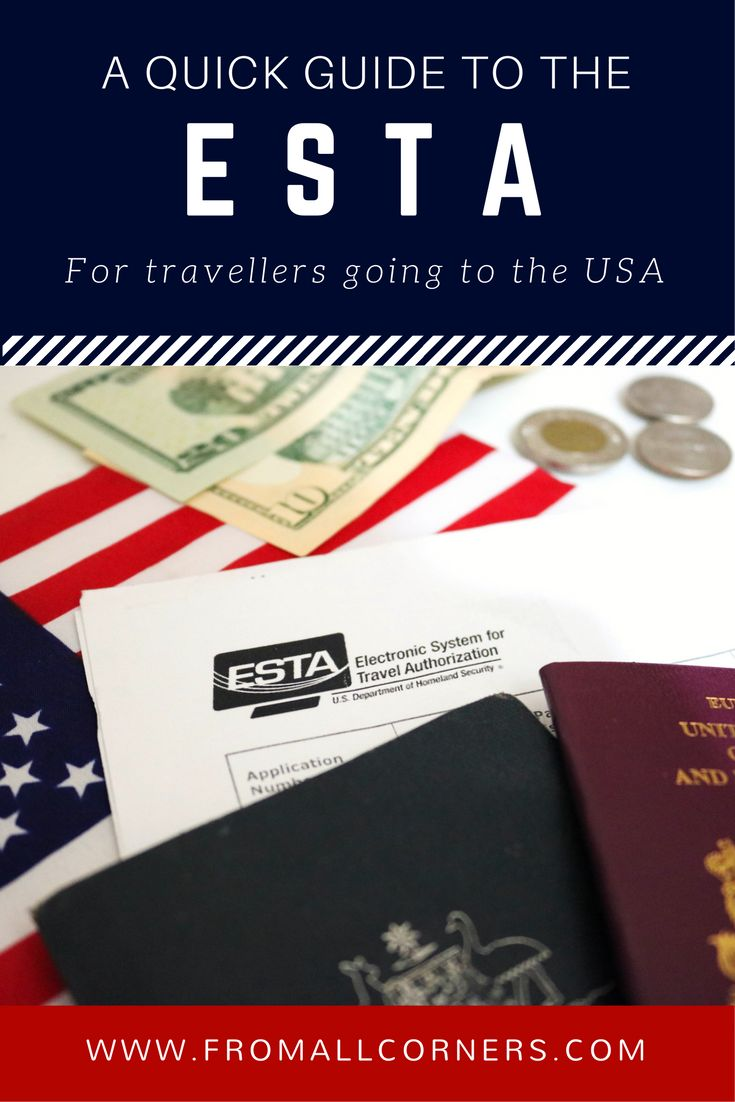 A quick guide to ESTA, an electronic system used by non-nationals to gain a temporary entry permit into the United States of America.