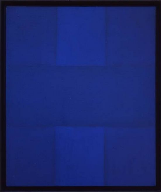 Ad Reinhardt, Abstract Painting, Blue, 19521952 Check, 1952 Wilson, Reinhardt Blue, Painting Art, Art Painting Drawing, Blue 1952 Ads Reinhardt, Abstract Paintings, Reinhardt Art, Blue Painting