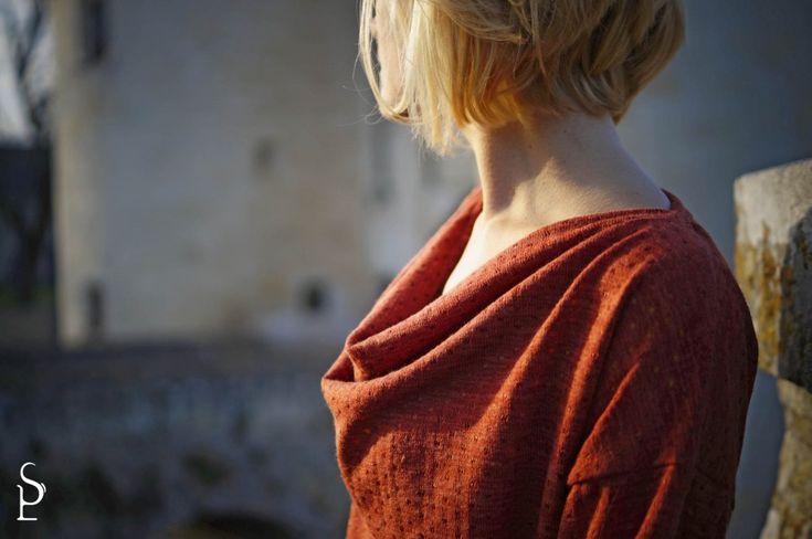 Petit haut TROP TOP, version C, patron de couture Ivanne S, by Les Ptites Sapes