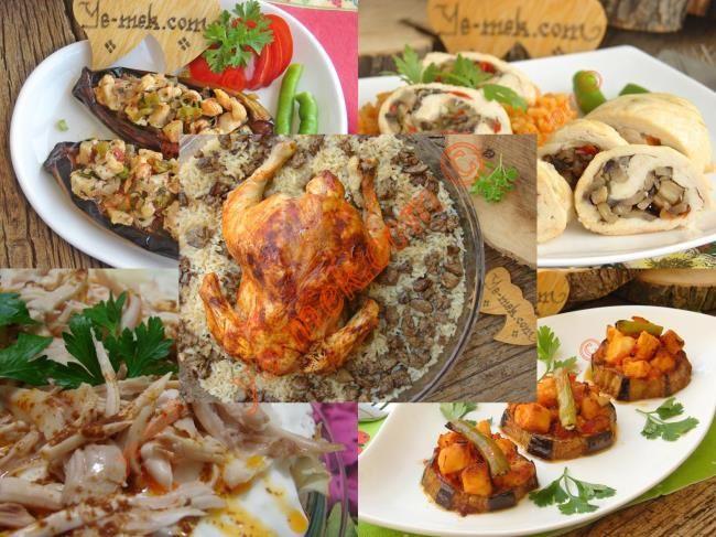 Fırında Tavuk Yemekleri Tarifleri Resimli Tarifi - Yemek Tarifleri
