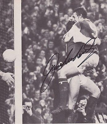 John radford #(arsenal & west ham fc) hand #signed #picture,  View more on the LINK: http://www.zeppy.io/product/gb/2/152201180862/