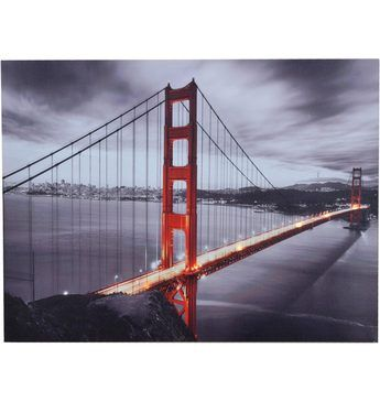 Home affaire LED-Wandbild »Golden Gate Bridge«, 80/60 cm Jetzt bestellen unter: https://moebel.ladendirekt.de/dekoration/bilder-und-rahmen/bilder/?uid=b3889090-d9c2-501b-aff3-79e6f70c1de7&utm_source=pinterest&utm_medium=pin&utm_campaign=boards #bilder #rahmen #dekoration