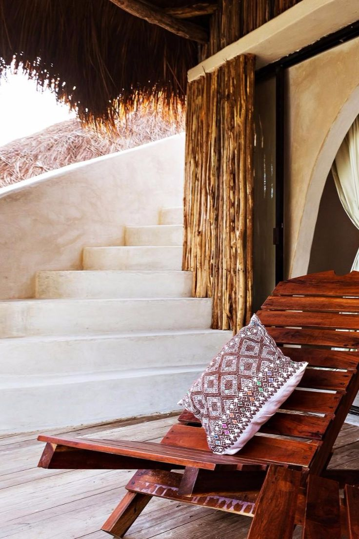 My new favorite reading nook. Papaya Playa Project (Tulum, Mexico) - Jetsetter