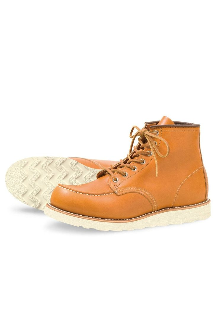 "Red Wing Shoes® - Irish Setter Limited Series 6"" Moc Toe Gold Russet Sequoia Leather (R9875)"