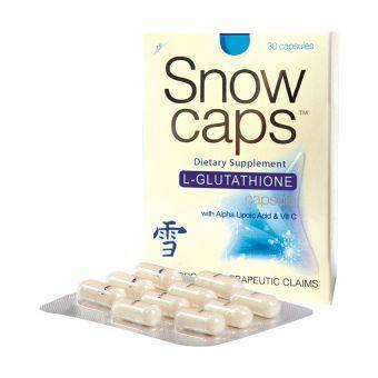 Snow Caps L-Glutathione 500mg Capsules 30's