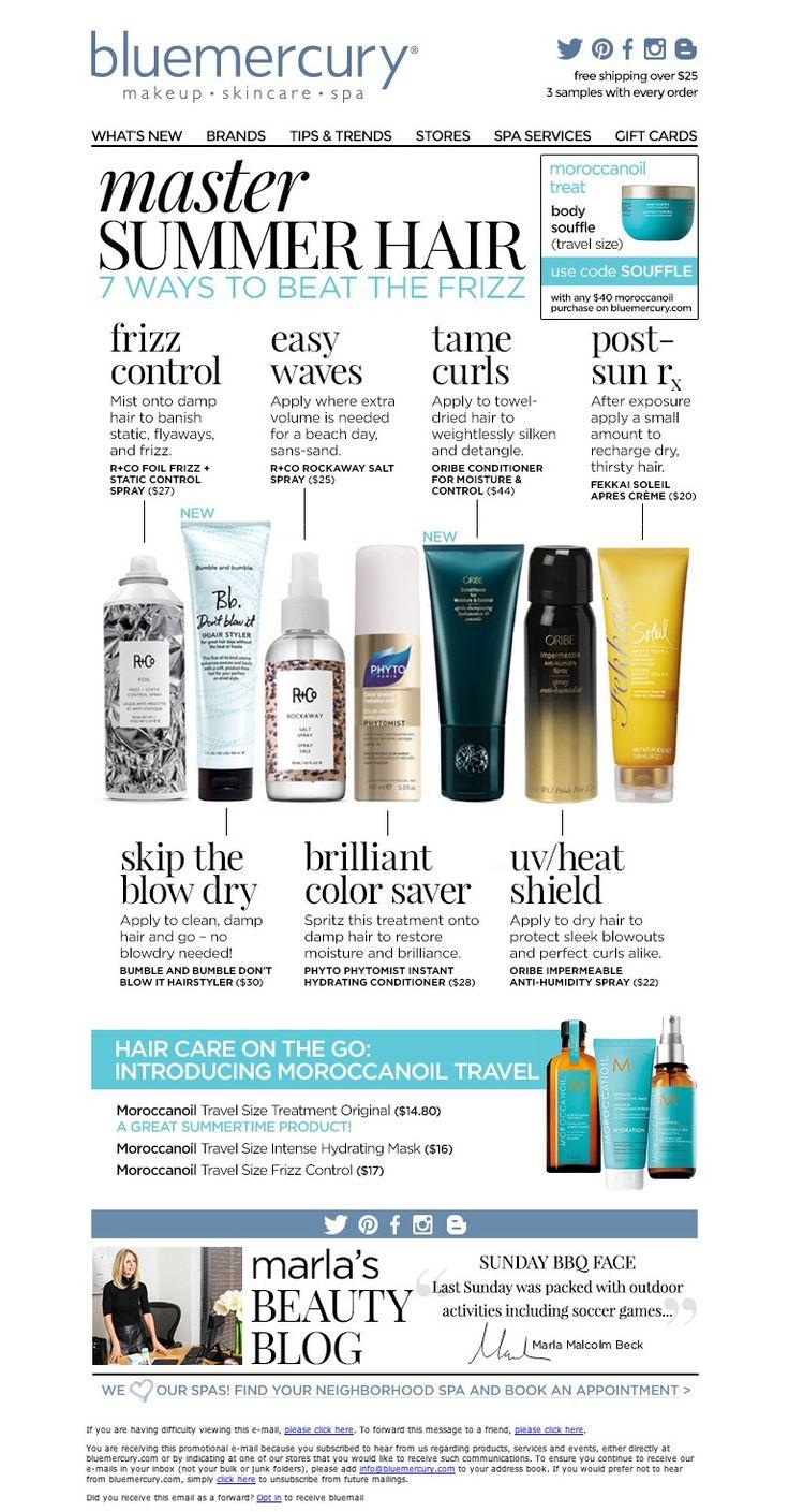 Bluemercury - 7 Ways To Beat The Frizz - Master Summer Hair