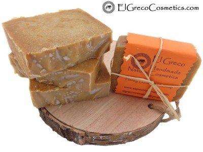http://elgrecocosmetics.com/honey-donkey-milk-soap/