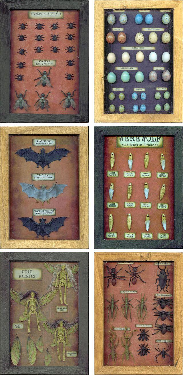 all1 DIY Halloween Shadow Boxes