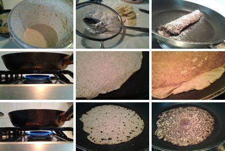 Pannenkoeken zonder ei t