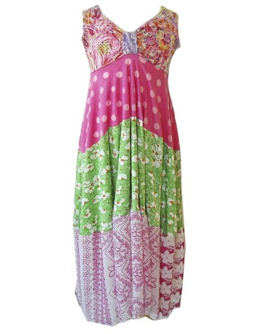 Believe it or not, this is a kids maxi dress!  Yep!  Funky and comfy.  Visit TwirlyGirl's boards to see even more maxi dress for kids.