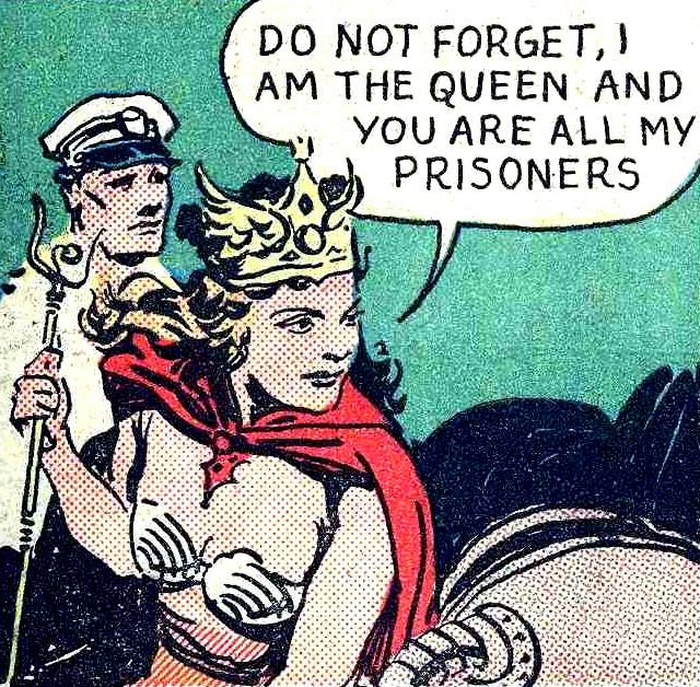 "DO NOT FORGET —""Neptina, Queen of the Deep"" in Champion Comics #9 (1940) by Bently Wade"