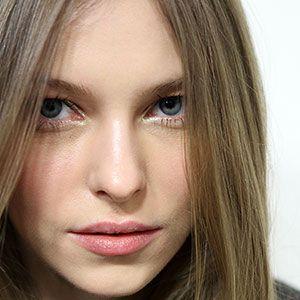 Gouden eyeliner