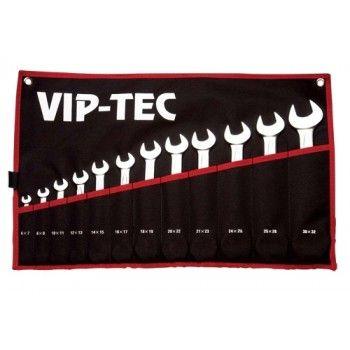VIP-TEC ÇATAL İKİ AĞIZ ANAHTAR TAKIMI 8 PARÇA VT1100008 - Sehrialisveris.com / KDV DAHİL 43 TL
