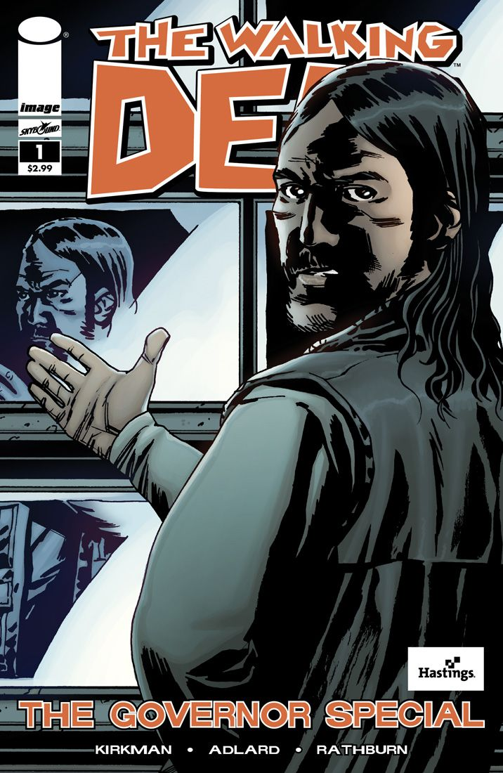 Cover Art for The Walking Dead: The Governor Special: Books Covers, The Walks Dead The Governor, Books Discuss, Horror Comic, Alternative Covers, Dead Addixon, Comic Books, Governor Special, Covers Art