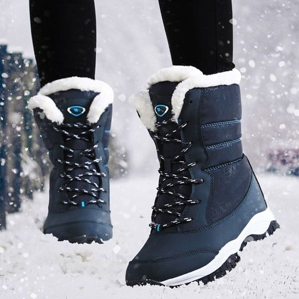 2019 Women's Fashion Winter Boots Ankle