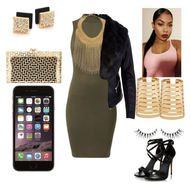 """""""Drink Team """" by mrsfashionkilla ❤ liked on Polyvore featuring Forever 21, Ben-Amun, Marc by Marc Jacobs, Charlotte Olympia and River Island"""