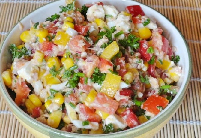 14 gyors és zamatos saláta aranysárga csemegekukoricával