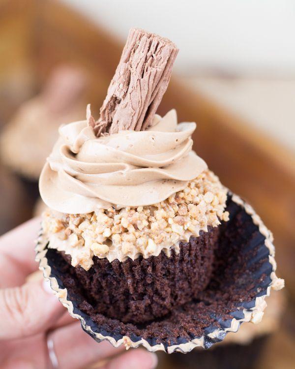 Objetivo: Cupcake Perfecto.: Los mejores cupcakes de Nutella del mundo mundial (madre que llega ya la bodaaaaa)