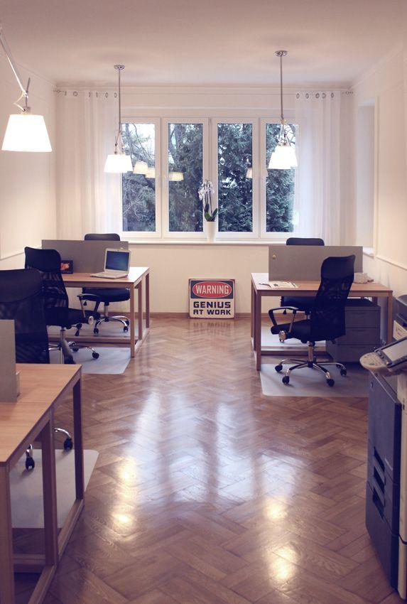 BIXBIT Phantom desks in CoWalski coworking http://www.cowalski.pl/en . Design: Kuba Blimel, www.bixbit.com