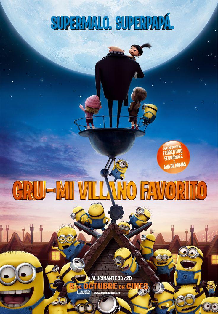 2010 - Gru, mi villano favorito - Despicable me - tt1323594