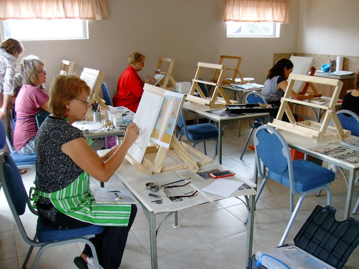Painting Classes with Thea Burger