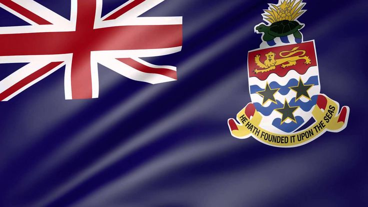 Cayman Islands Animated Flag
