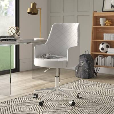 Anja Home Task Chair Upholstery Color Dark Gray