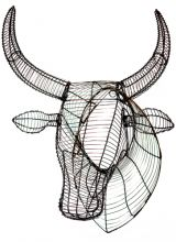 Wire Nguni (Cow) Head