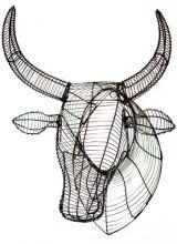 Wire Nguni (Cow) Head
