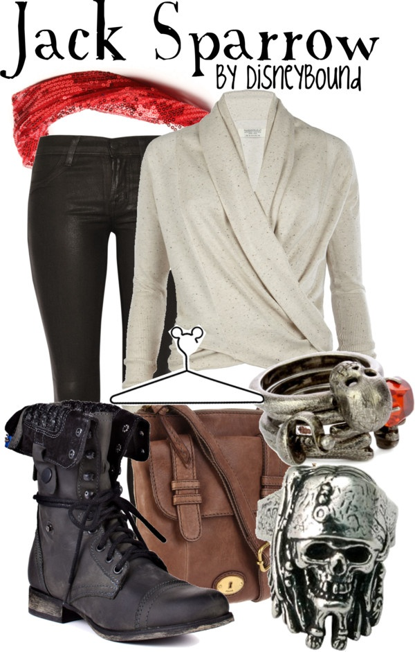 """""""Jack Sparrow"""" by lalakay ❤ liked on Polyvore"""