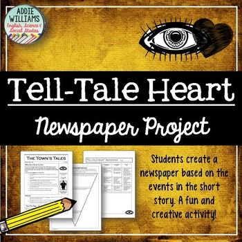 """heart assignment """"the tell-tale heart  writing assignments revision activities teaching suggestions as an alternative to simply having students mark text on question numbers 7 ."""