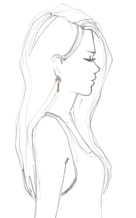 cool drawing idea – girl drawing. visit my youtube…