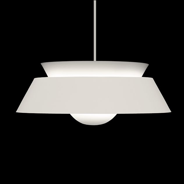 Cuna is a contemporary, non-electrical light shade with a distinct modernist feel. This stylish, affordable design provides a good balance of downward and indirect, diffused illumination. Ideal for bedroom, kitchen, living and dining situations. Available in three useful colours. Supplied without cable and electrics.