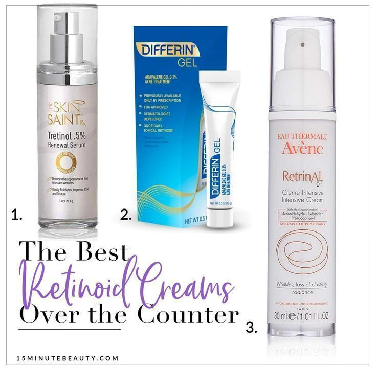 The Best Over The Counter Retinoid And Retinol Serums For Anti Aging Skincare Over40skincareantiaging Beautyti Differin Gel Anti Aging Skin Products Retinoid
