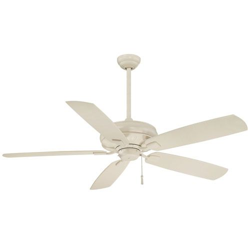 Sunseeker 60-Inch Ceiling Fan in Bone White with Five Blades