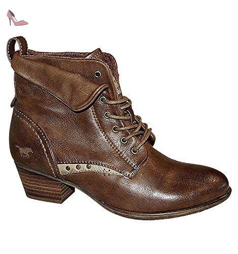 Mustang  1162602, bottes & bottines femmes - Marron - Marron, Taille 37 EU - Chaussures mustang (*Partner-Link)