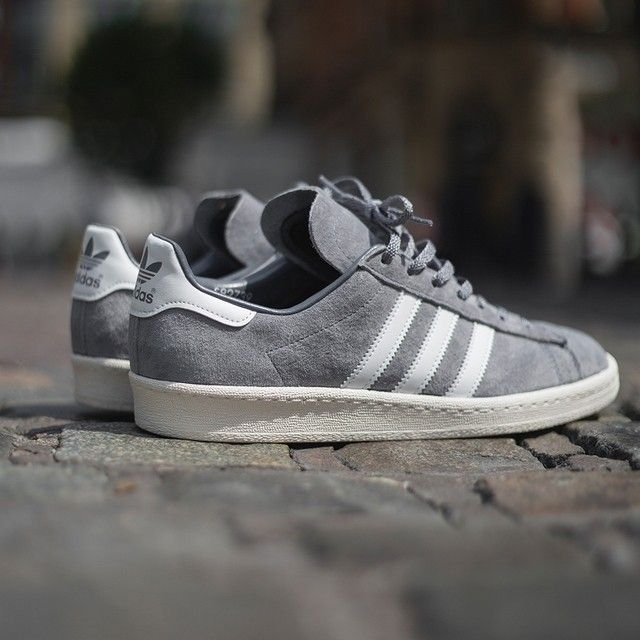 adidas Originals Campus 80's Vintage 'Japan Pack': premium grey · Kobe ShoesJordan  ShoesMen's ...