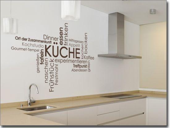 25+ einzigartige Wandtattoo küche Ideen auf Pinterest | Wandtattoo ...