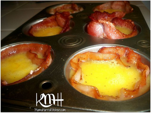 Easy Bacon and Egg Breakfast Cups!
